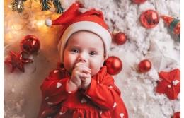 Поздравляем всех малышей и их родителей с Новым годом!
