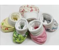 Пинетки для новорожденного 0-3 месяца