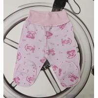Ползунки для маловесных детей футер Мишки 10470