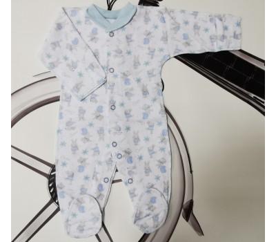 Слип Зайчики Belly для недоношенных детей 8493