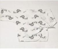 """Распашонка для недоношенных детей """"Карета"""" (гол) 9524"""