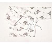 """Распашонка для недоношенных детей """"Карета"""" (роз) 9524"""