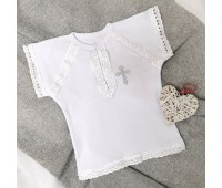 Крестильная рубаха 62-68р