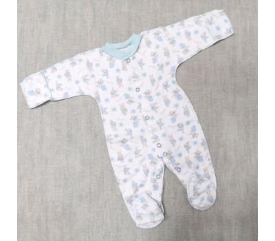 Слип Зайчики Belly для недоношенных детей 8493(гол)