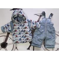 Комплект ясельный для девочки куртка+комбинезон