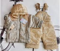 Демисезонный комплект (куртка+полукомбинезон) утепленный