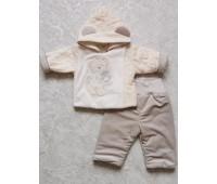 Комплект из курточки и штанишек утепленный 9343