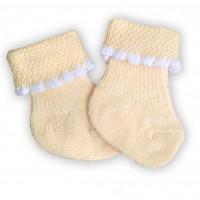 Носочки махровые 6-8 см бирюзовая полоска