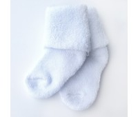 Носочки махровые белые 6-8 см