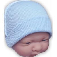 Шапочка для маловесных и недоношенных детей рубчик, 34 см