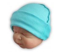 Шапочка для маловесных и недоношенных детей рубчик, 36 см