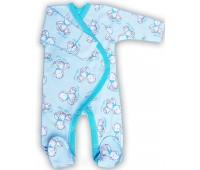 """Комбинезон для новорожденного """"Тедди"""" гол"""