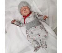 """Комплект для новорожденного (боди+ползунки) """"МамаПапа"""""""