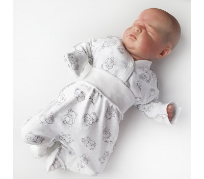 """Комплект для новорожденного """"Нежность"""" интерлок"""