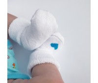 Носочки махровые для недоношенных детей 6-8 см