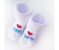 Носочки махровые Мама Папа 4-6 см