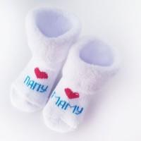Носочки махровые Мама Папа 6-8 см