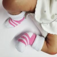 Носочки махровые для недоношенных детей 4-6 см