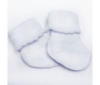 Носочки тонкие белые 6-8 см