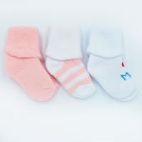 Набор махровых носочков для девочки