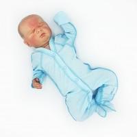 """Комбинезон для недоношенных детей однотонный """"Голубой"""""""