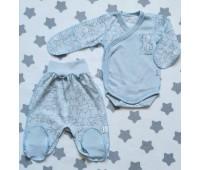 Комплект для недоношенных детей Собачка(гол)