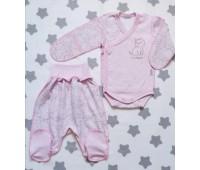 Комплект для недоношенных детей Котёнок(роз)