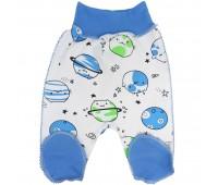 """Ползунки для недоношенных детей """"Голубые планетки"""""""