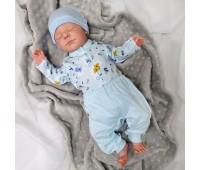 Комплект для недоношенных деток (кофточка и штанишки)