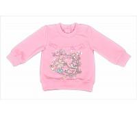 Джемпер для девочки розовый 107-593-01