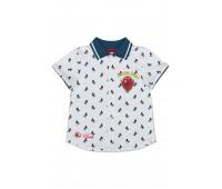 Рубашка для мальчика с кор. рукавом 111-613л-01м