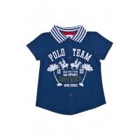 Рубашка-поло для мальчика короткий рукав 111-613л-03м