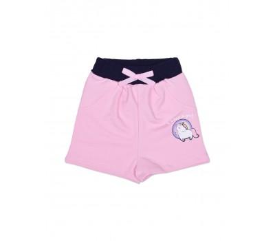 Шорты для девочки с карманами 112-625а-01м