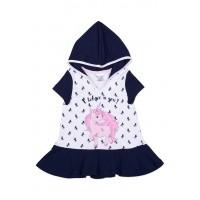 Платье для девочки с Единорогом 112-632-01м