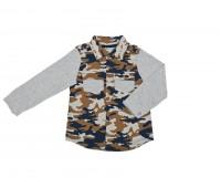 Рубашка для мальчика на кнопках 117-657-01м