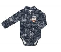 Боди-рубашка для мальчика 126-747-02