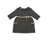 Платье в горошек для девочки 127-684-01