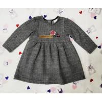 Платье для девочки жаккардовое 127-726-01