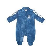 Комбинезон для мальчика из хлопкового полотна 138-82.8-01