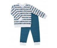 "Пижама для мальчика ""Море"" 77-075-07"