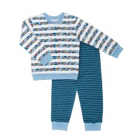 "Пижама для мальчика ""Море 2"" 77-075-08"