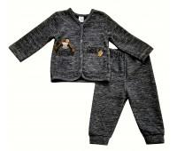 Комплект для девочки, кофта + брюки Гламур