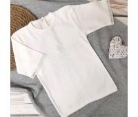 Крестильная рубаха для мальчика 62-68р, 74-80р экрю