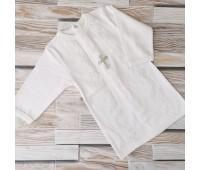 Крестильная рубашка для мальчика, экрю 62-68р