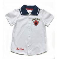 Рубашка для мальчика короткий рукав 111-613л-02
