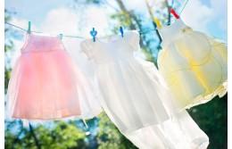 Как правильно стирать детские вещи и ухаживать за ними